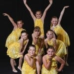 2009 - 2010 Move with Grace Dance Group Photo