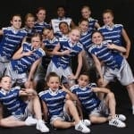 2008 - 2009 Move with Grace Dance Group Photo