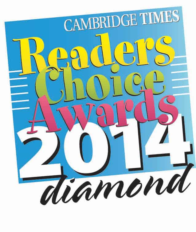 "Move With Grace Wins 2014 Cambridge Times Diamond Award ""Best Dance Studio"" Readers Choice Award"